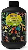 Quariss Universeller Entkalker für Kaffeemaschinen - Eco Natürlicher Flüssigentkalker Kaffevollautomaten & Espressomaschinen Kompatibel mit Delonghi