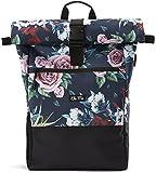Ela Mo's Rucksack Damen   Schön und Durchdacht   für Uni Reisen Freizeit Job   mit Laptopfach & Anti Diebstahl Tasche   Blumen