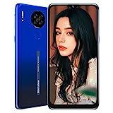 Blackview A80 Smartphone ohne Vertrag 4G, Android 10 Go 6,21 Zoll LCD Display, 13MP Quad Kamera + 5MP, 4.200mAh Akku, 2GB+16GB, Face ID, Fingerabdruck Sensor, Quad-core Handy (Blau)